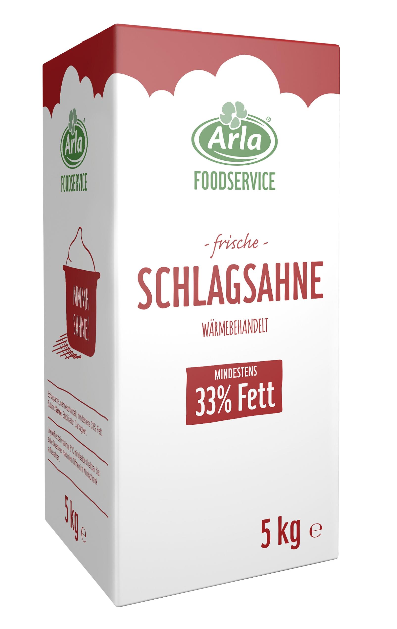 Arla Foodservice - 5kg Schlagsahne 33% 2016
