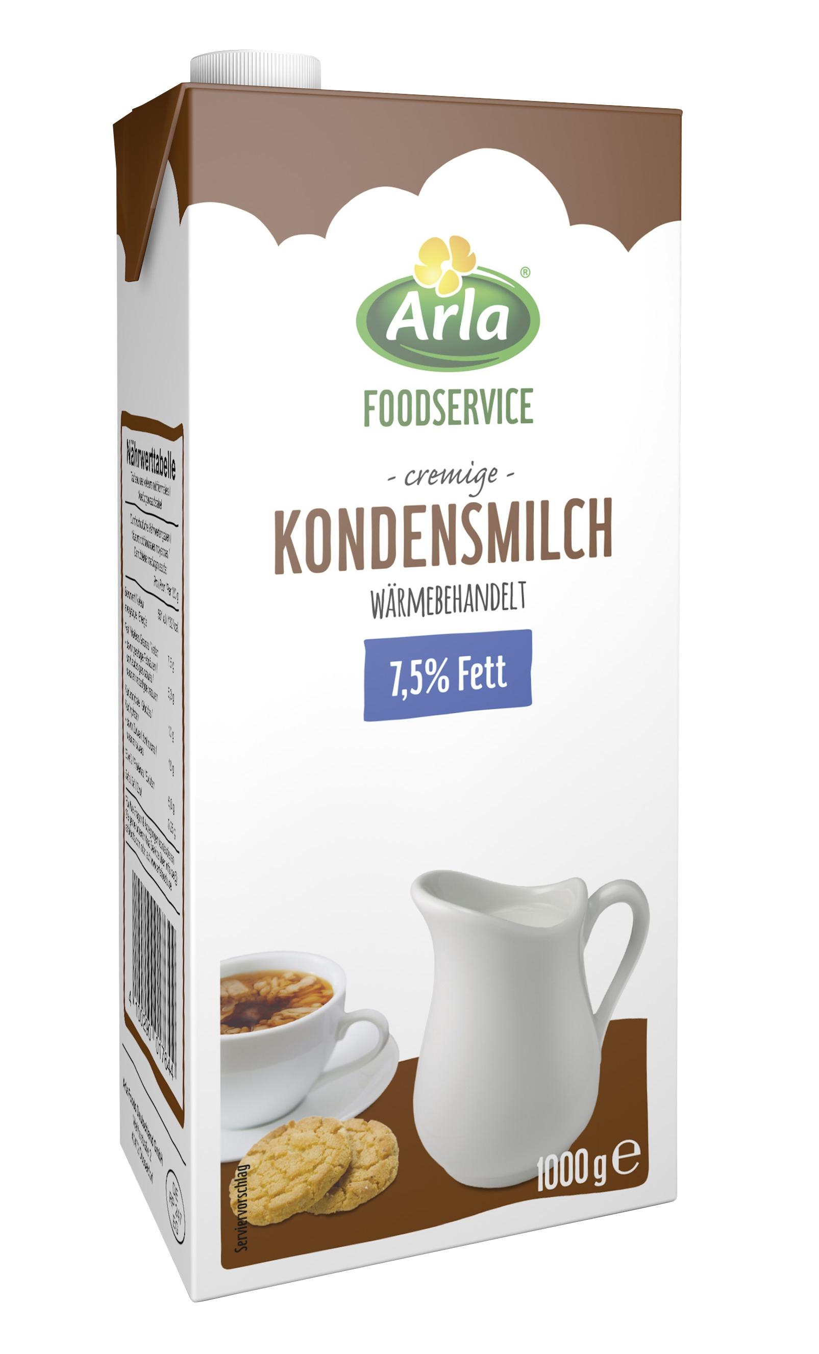 Arla Foodservice - Kondensmilch 7,5% 2016